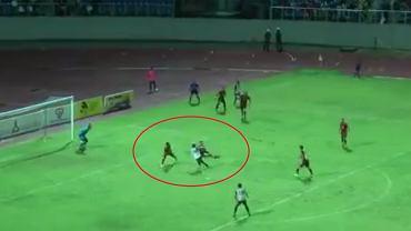 Gol raboną w Pucharze Malezji
