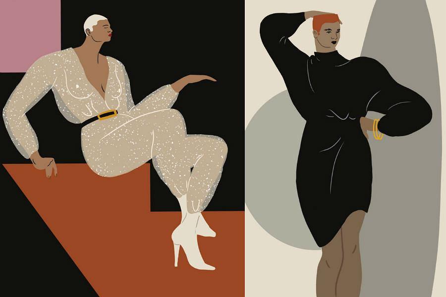 W kolekcji Reserved i Vogue pojawią się nawiązania do legendarnego klubu 'Studio 54' oraz lat 80.