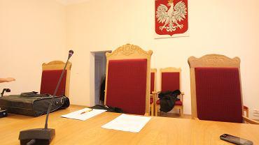 Sala sądowa, zdj. ilustracyjne