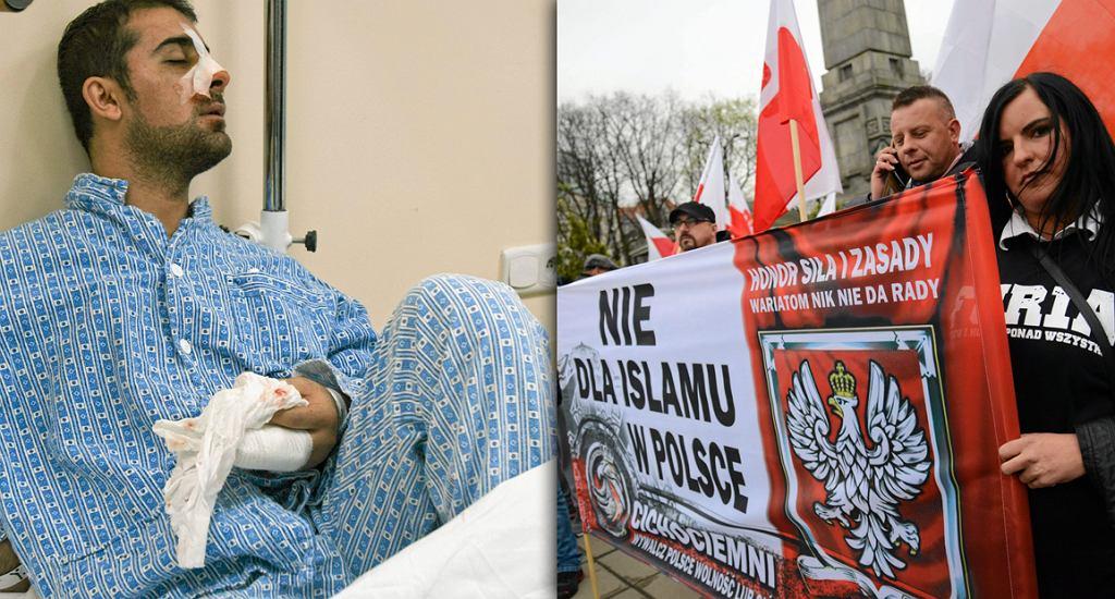 Syryjczyk pobity w Poznaniu | Marsz antyimigrancki