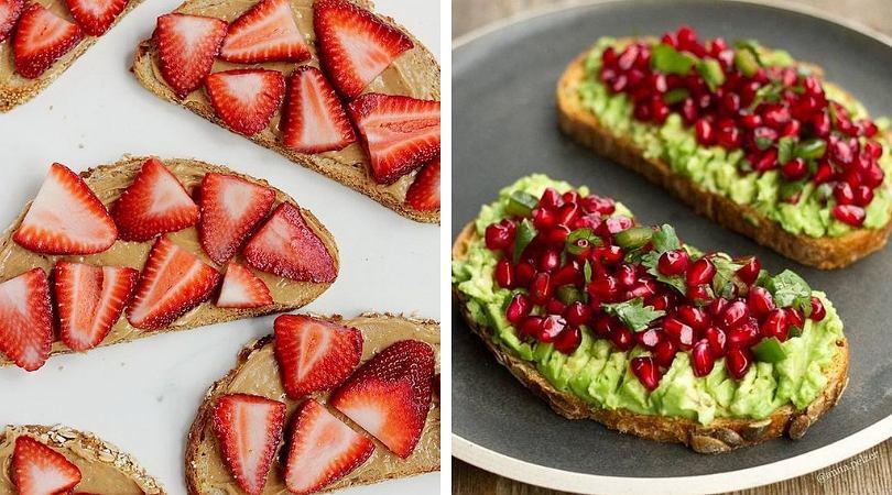 Tosty na słodko to świetny pomysł na szybkie śniadanie.