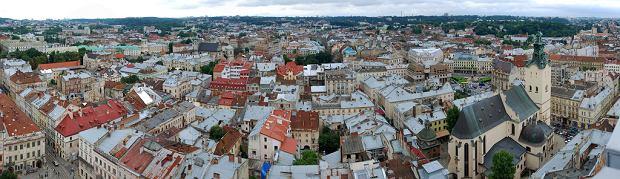 Panorama Lwowa. Lwów - Stare Miasto / Flickr.com/CC/Andrew Goloida