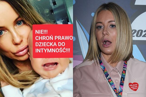 """Małgorzata Rozenek została ostro skrytykowana przez youtuberkę za opublikowanie zdjęcia płaczącego Henryka. """"Perfekcyjna"""" nie zostawiła tych zarzutów bez odpowiedzi."""