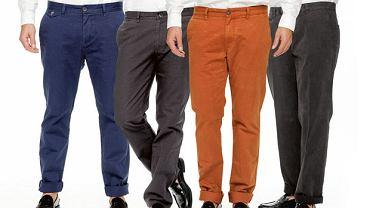Spodnie: chinosy na jesień i zimę