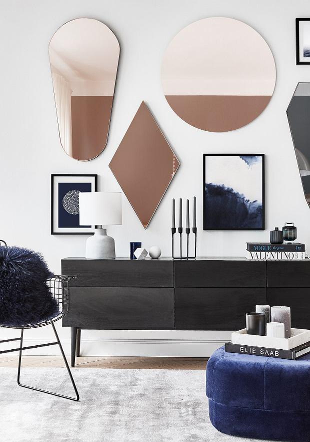 Dekoracje ściany w salonie