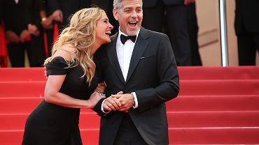 Julia Roberts i George Clooney na festiwalu w Cannes, 2016