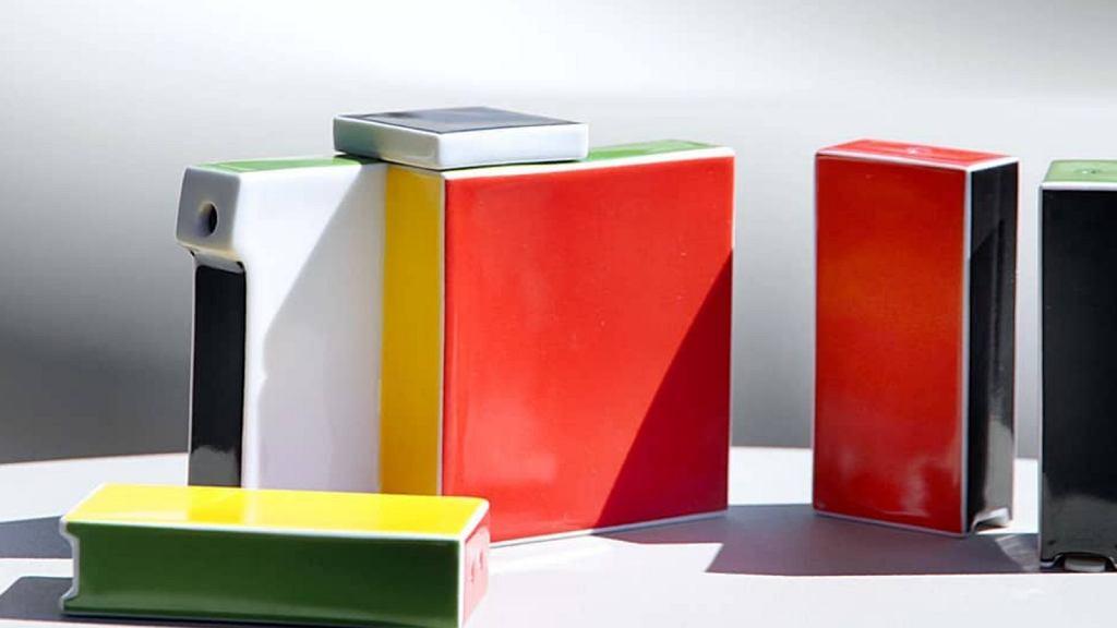 Geometryczna kolekcja Domus, którą zaprojektował Marek Cecuła.