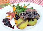 Wołowina w sosie z owocami czeremchy w Da Mario Ristorante - Zdjęcia