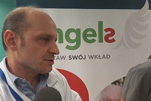 Konferencja prasowa w szpitalu w Zielonej Górze dotycząca udaru mózgu