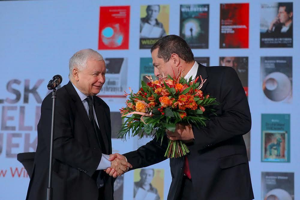Jarosław Kaczyński i Bronisław Wildstein