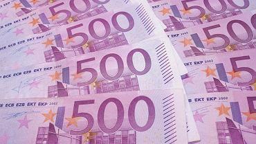 Euro, pieniądze, zyski (zdjęcie ilustracyjne)