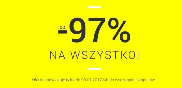 Sklep Nexterio przecenił niektóre produkty o 97 procent
