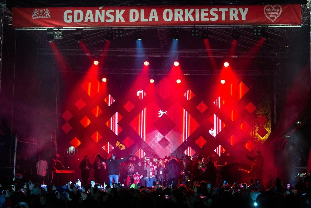 Morderca, Stefan W. na scenie, kilka chwil po ataku na prezydenta miasta Pawła Adamowicza. Gdańsk, 13 stycznia 2019