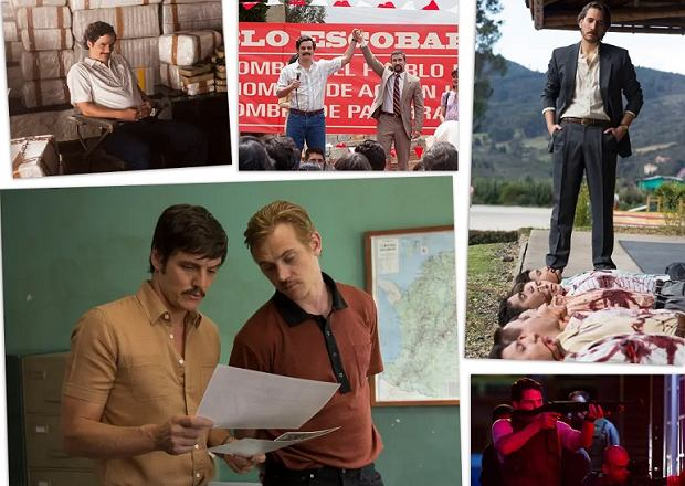 Kadry z serialu 'Narcos'