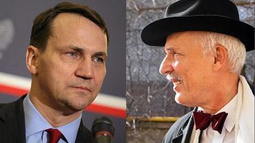 Radosław Sikorski, Janusz Korwin-Mikke