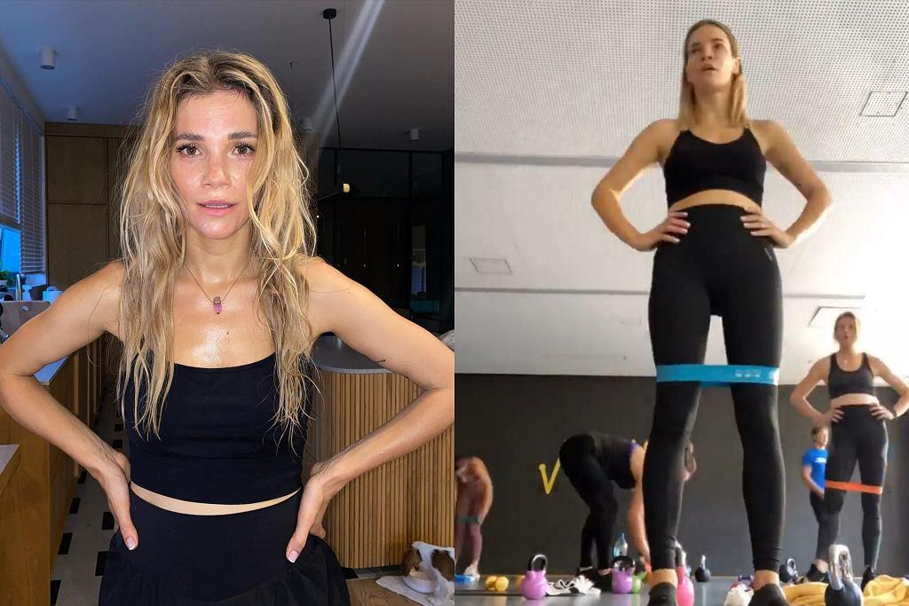 Maja Bohosiewicz intensywnie ćwiczy