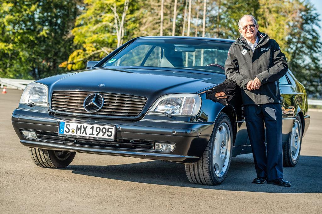 Dr. Ir. Anton van Zanten z Bosch odpowiedzialny za wprowadzenie układu ESC/ESP w Mercedesie S 600 C140