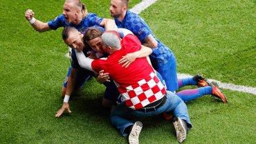 Mecz Chorwacja-Turcja.