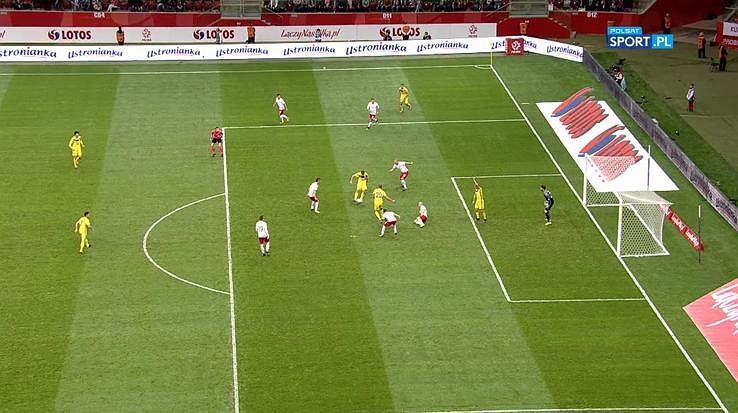 Spalony w meczu Polska - Kazachstan