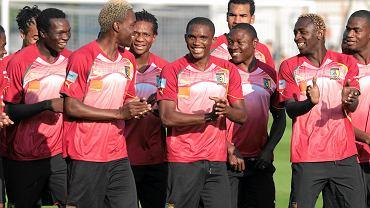 Samuel Eto'o z reprezentacją Kamerunu