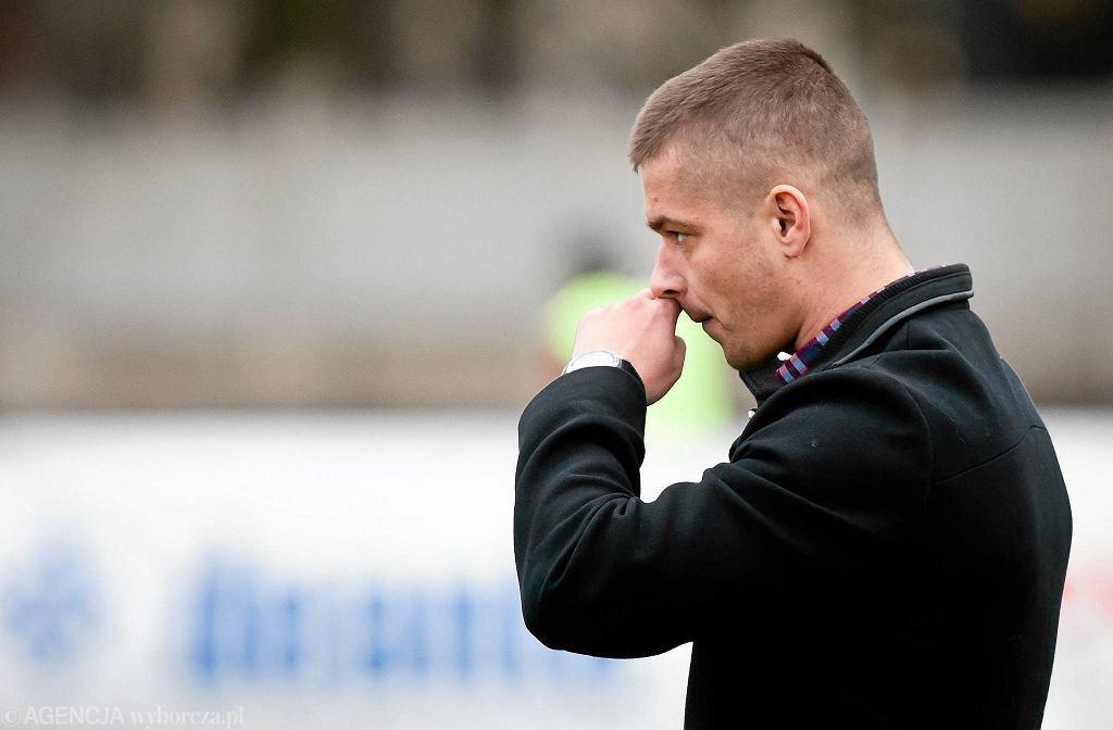 Marcin Płuska, trener Widzewa