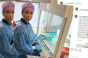 Małgorzata Rozenek w filmie dokumentalnym o in vitro. Pokazała zdjęcie zza kulis i opowiedziała o projekcie