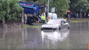 Bolesławiec. Ulewne deszcze zalały miasto
