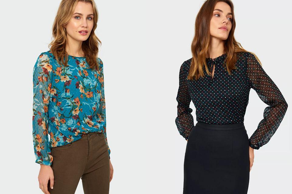 eleganckie bluzki