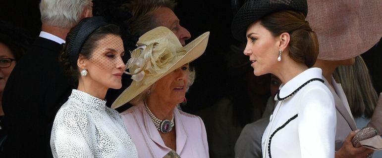 Księżna Kate potraktowała królową Letizię jak powietrze. Pod okiem kamer