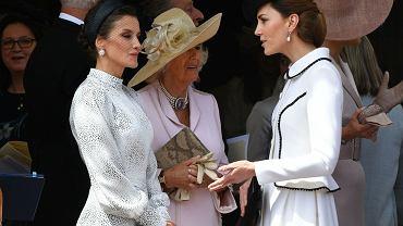 Księżna Kate potraktowała królową Letizię jak powietrze. Tego się nie wyprze. Wszystko zarejestrowały kamery