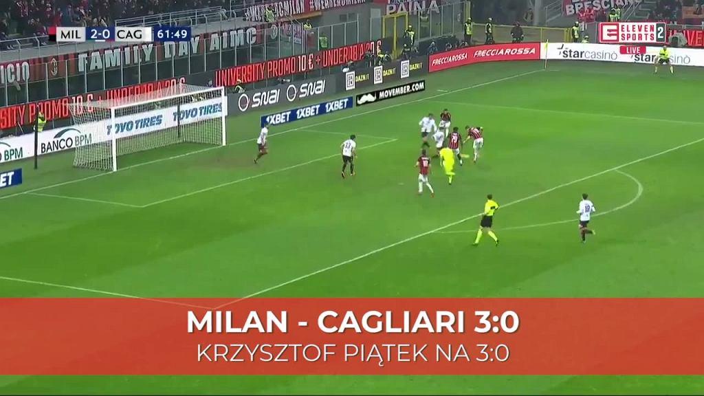Krzysztof Piątek z kolejnym golem dla Milanu