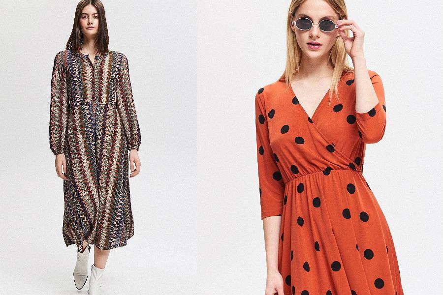 Sukienki w stylu lat 70.