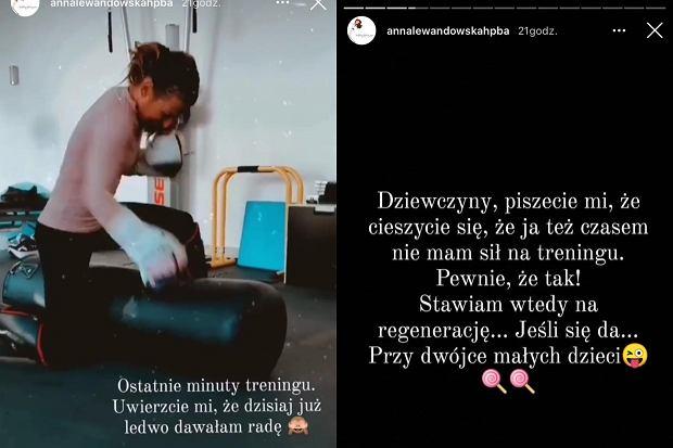 Anna Lewandowska o sile do treningów