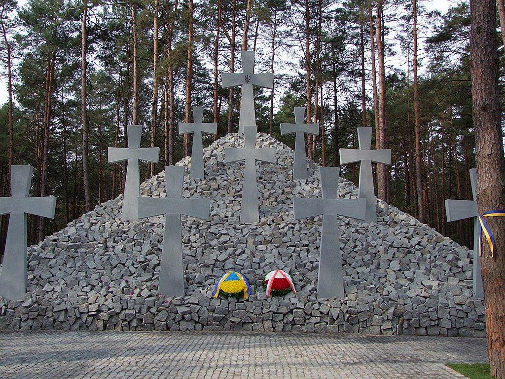 Zbiorowa mogiła ofiar terroru NKWD w Bykowni