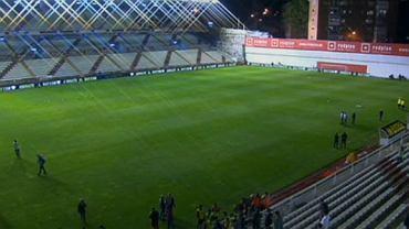 Stadion Rayo o godzinie 21.30. Wtedy miał rozpocząć się mecz z Realem