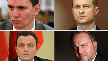 Piotr Bączek, Andrzej Kowalski, Piotr Pogonowski, Płk Grzegorz Małecki