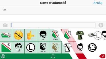 Emotikony Legii Warszawa