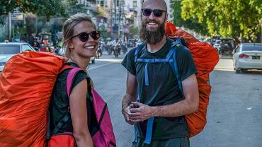 Justyna i Jurek wybrali się w kilkumiesięczną podróż po Azji