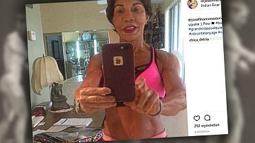 Zaczęła trenować w wieku 59 lat.