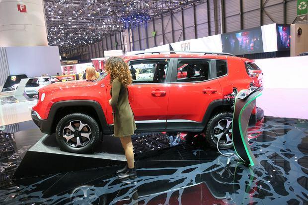 Jeep stawia na hybrydy ładowane z gniazdka
