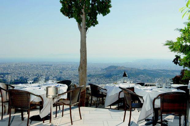 Restauracja Orizontes w Atenach