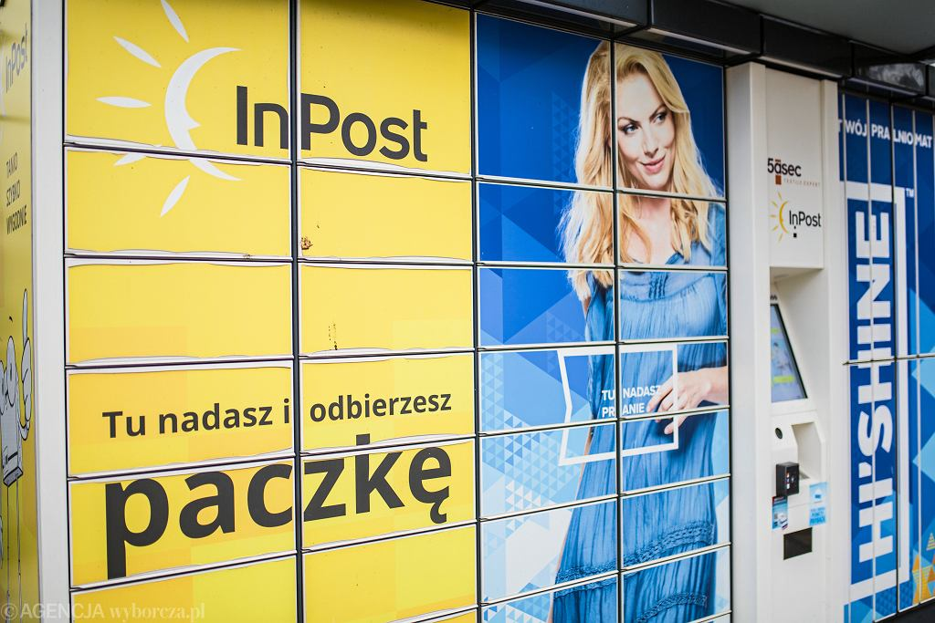 Paczkomat firmy InPost