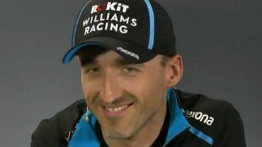 Robert Kubica podczas konferencji przed GP Australii