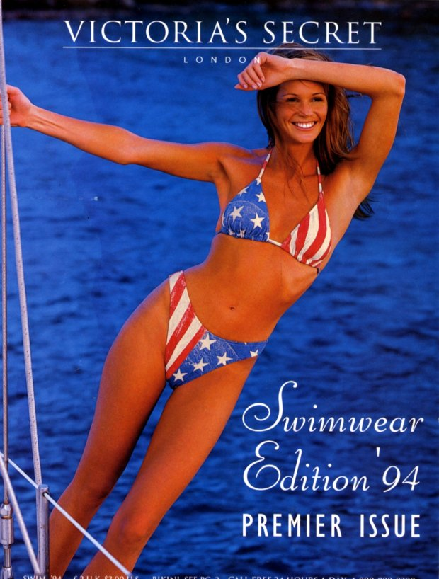 Okładka katalogu Victoria's Secret, lato 1994 r.