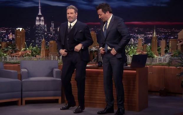 John Travolta wykonał swój kultowy taniec z Grease