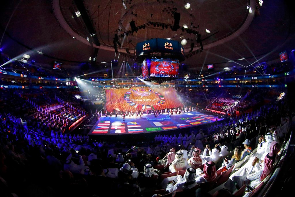 Ceremonia otwarcia MŚ piłkarzy ręcznych w Katarze