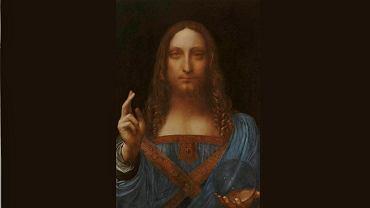 Leonardo da Vinci 'Chrystus Zbawiciel'
