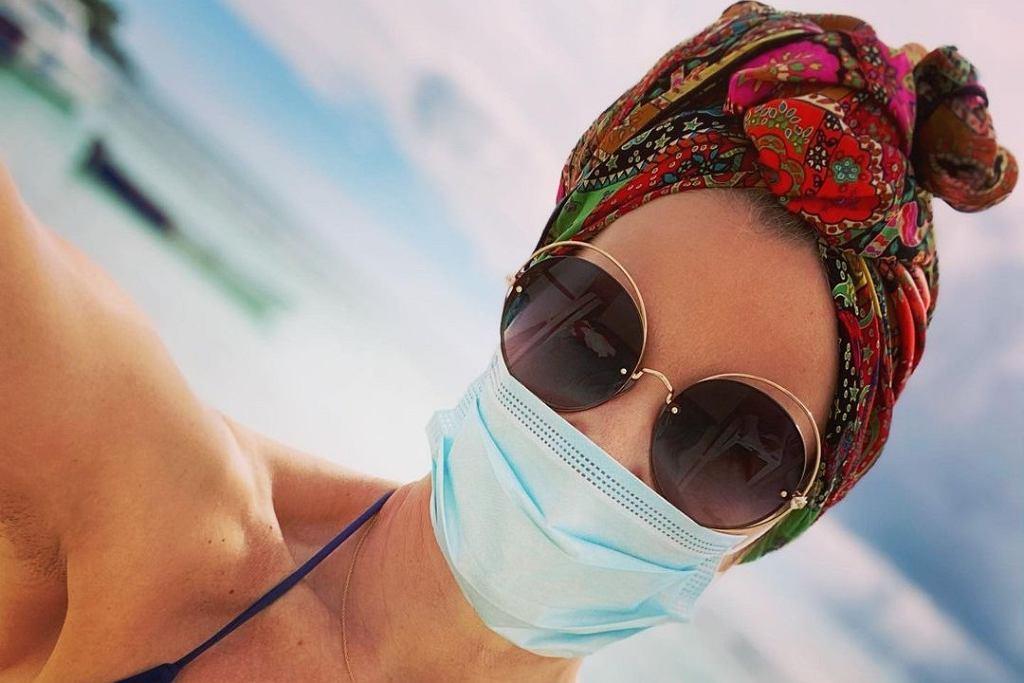 Małgorzata Kożuchowska na luksusowych wakacjach
