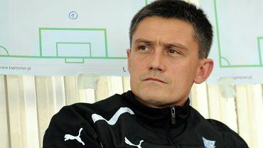 Lech Poznań - Podbeskidzie Bielsko-Biała 1:2 w sparingu w Opalenicy. Trener Mariusz Rumak