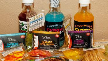 Produkty spożywcze zawierające marihuanę